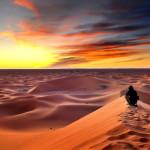 Chegaga sunset