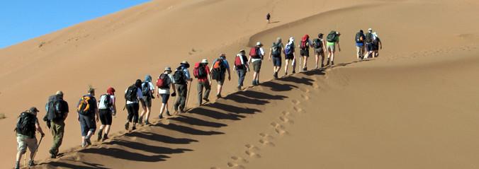 Desert Trekking in Mhamid